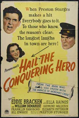 Hail the Conquering Hero - 27 x 40 Movie Poster - Style A