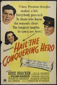 Hail the Conquering Hero - 43 x 62 Movie Poster - Bus Shelter Style A
