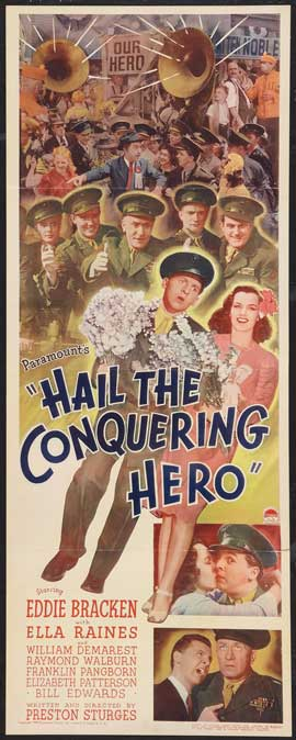 Hail the Conquering Hero - 14 x 36 Movie Poster - Insert Style A