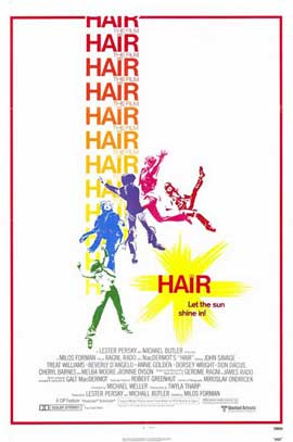 Hair - 11 x 17 Movie Poster - Style A