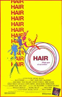 Hair - 11 x 17 Movie Poster - Spanish Style A