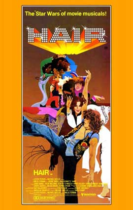Hair - 11 x 17 Movie Poster - Style B