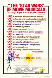 Hair - 11 x 17 Movie Poster - Style C