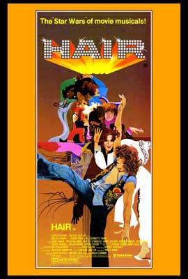 Hair - 27 x 40 Movie Poster - Style B