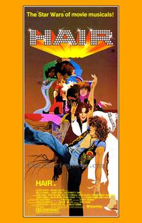 Hair - 43 x 62 Movie Poster - Bus Shelter Style A