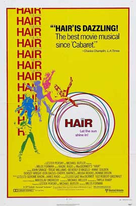 Hair - 11 x 17 Movie Poster - Style D
