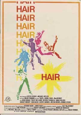 Hair - 11 x 17 Movie Poster - Spanish Style B