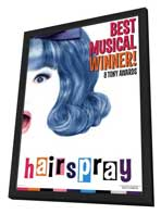 Hairspray (Broadway) - 27 x 40 Poster - Style A - in Deluxe Wood Frame
