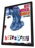 Hairspray (Broadway) - 11 x 17 Poster - Style A - in Deluxe Wood Frame