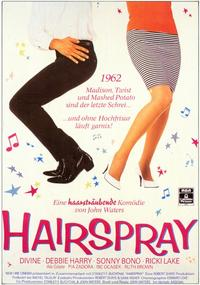 Hairspray - 11 x 17 Movie Poster - German Style A