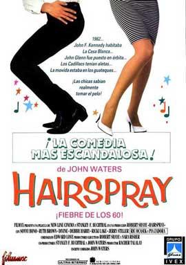 Hairspray - 27 x 40 Movie Poster - Spanish Style A