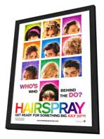 Hairspray - 27 x 40 Movie Poster - Style A - in Deluxe Wood Frame