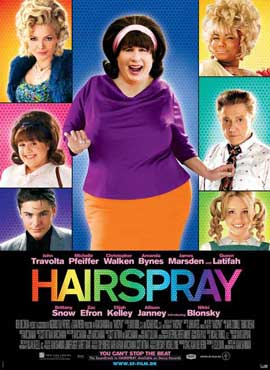 Hairspray - 11 x 17 Movie Poster - Danish Style A