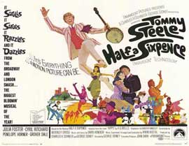 Half a Sixpence - 11 x 14 Movie Poster - Style A