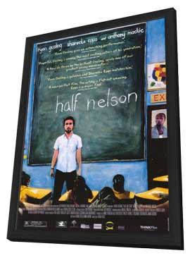 Half Nelson - 11 x 17 Movie Poster - Style A - in Deluxe Wood Frame