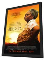 Half of a Yellow Sun - 27 x 40 Movie Poster - Style A - in Deluxe Wood Frame