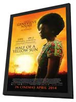 Half of a Yellow Sun - 27 x 40 Movie Poster - Style B - in Deluxe Wood Frame