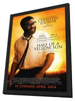 Half of a Yellow Sun - 27 x 40 Movie Poster - Style C - in Deluxe Wood Frame