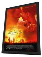 Half of a Yellow Sun - 11 x 17 Movie Poster - UK Style A - in Deluxe Wood Frame