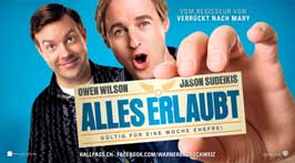 Hall Pass - 20 x 40 Movie Poster - Swiss Style A