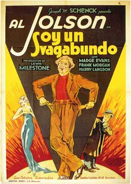 Hallelujah, I'm a Bum - 27 x 40 Movie Poster - Spanish Style A