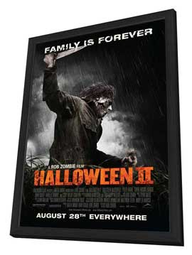 Halloween 2 - 27 x 40 Movie Poster - Style C - in Deluxe Wood Frame
