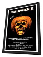 Halloween 2: The Nightmare Isn't Over! - 27 x 40 Movie Poster - Style A - in Deluxe Wood Frame