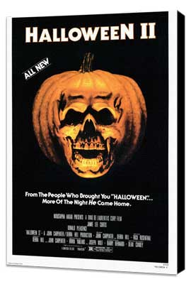 Halloween 2: The Nightmare Isn't Over! - 11 x 17 Movie Poster - Style A - Museum Wrapped Canvas