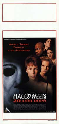 Halloween H20: 20 Years Later - 13 x 28 Movie Poster - Italian Style A