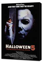 Halloween 5: The Revenge of Michael Myers - 27 x 40 Movie Poster - Style A - Museum Wrapped Canvas