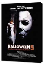 Halloween 5: The Revenge of Michael Myers - 27 x 40 Movie Poster - Style B - Museum Wrapped Canvas