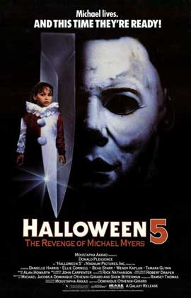 Halloween 5: The Revenge of Michael Myers - 11 x 17 Movie Poster - Style A