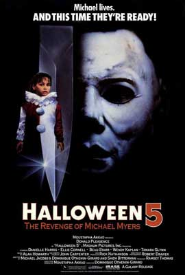 Halloween 5: The Revenge of Michael Myers - 27 x 40 Movie Poster - Style A