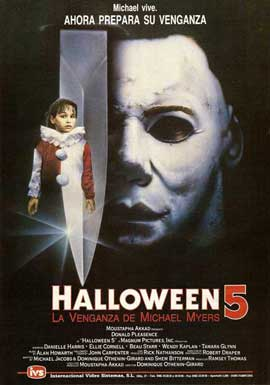 Halloween 5: The Revenge of Michael Myers - 11 x 17 Movie Poster - Spanish Style A