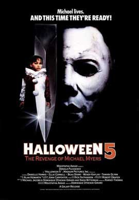 Halloween 5: The Revenge of Michael Myers - 11 x 17 Movie Poster - Style B