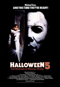 Halloween 5: The Revenge of Michael Myers - 43 x 62 Movie Poster - Bus Shelter Style A