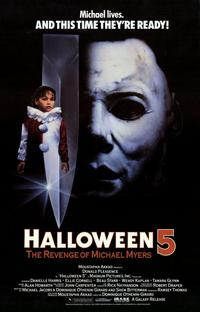 Halloween 5: The Revenge of Michael Myers - 11 x 17 Movie Poster - Style A - Museum Wrapped Canvas