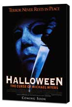 Halloween 6: The Curse of Michael Myers - 27 x 40 Movie Poster - Style A - Museum Wrapped Canvas