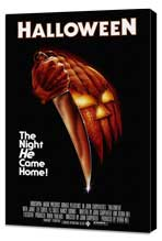 Halloween - 11 x 17 Movie Poster - Style A - Museum Wrapped Canvas