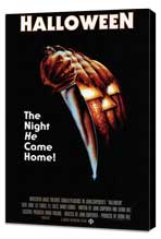 Halloween - 11 x 17 Movie Poster - Style D - Museum Wrapped Canvas