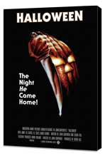 Halloween - 27 x 40 Movie Poster - Style D - Museum Wrapped Canvas