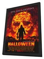 Halloween - 27 x 40 Movie Poster - Style A - in Deluxe Wood Frame