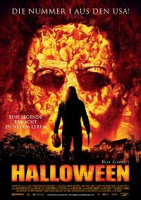 Halloween - 11 x 17 Movie Poster - German Style A