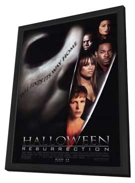 Halloween: Resurrection - 11 x 17 Movie Poster - Style A - in Deluxe Wood Frame
