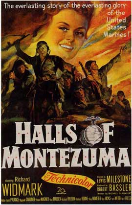The Halls of Montezuma - 11 x 17 Movie Poster - Style B