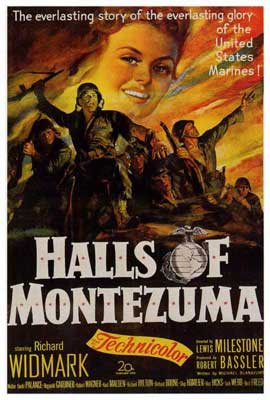 The Halls of Montezuma - 27 x 40 Movie Poster - Style B