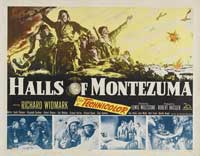 The Halls of Montezuma - 22 x 28 Movie Poster - Half Sheet Style A