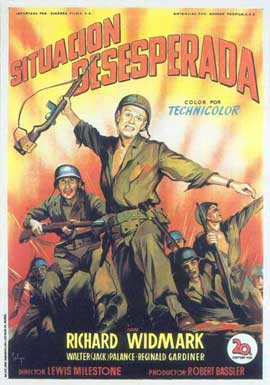 The Halls of Montezuma - 11 x 17 Movie Poster - Spanish Style A