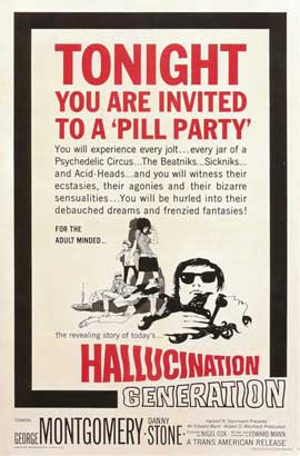 Hallucination Generation - 11 x 17 Movie Poster - Style A