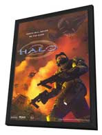 Halo 2 - 11 x 17 Video Game Poster - Style A - in Deluxe Wood Frame